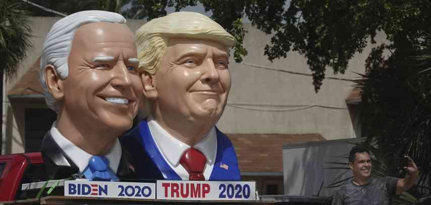 Us Wahlen Town Halls Von Joe Biden Und Donald Trump Zeitgleiche Ansetzung Wird Zum Politikum Politik